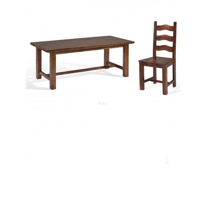 Conjunto mobiliario hosteler a mesa durango grande y silla for Mesas y sillas hosteleria