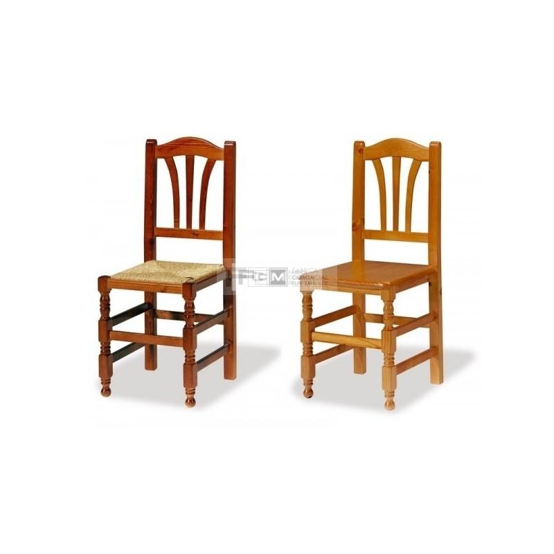 Conjunto mobiliario hosteler a mesa mesonera grande y silla gineta - Sillas la gineta ...
