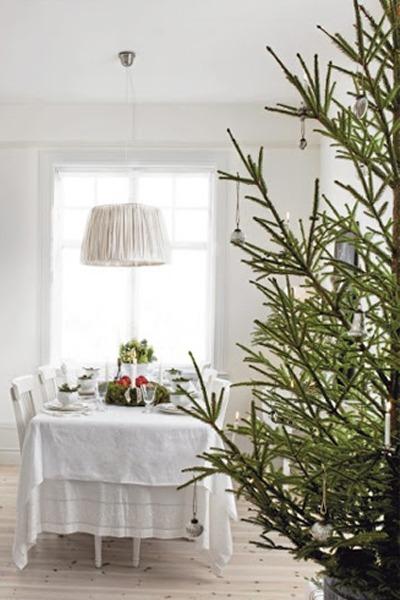Decorar en Navidad, estilo sueco
