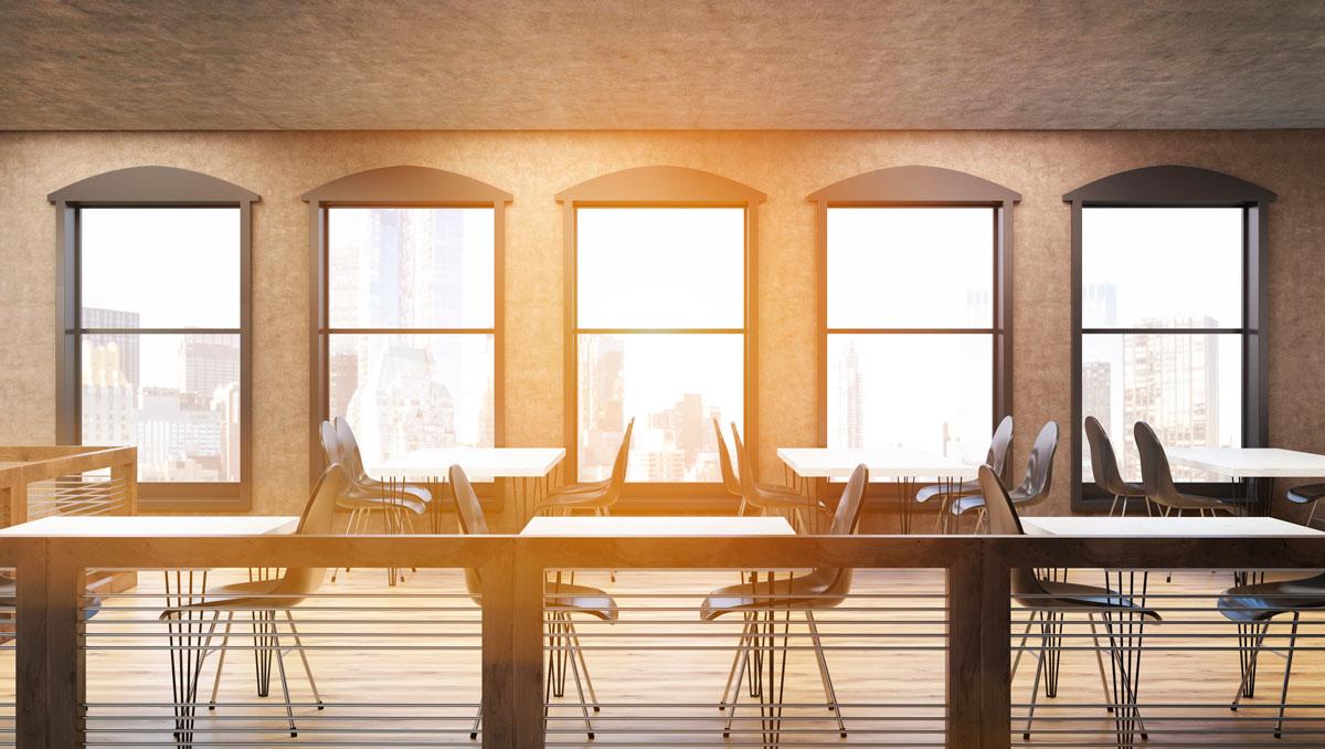 Estilo minimalista en mobiliario para hosteler a - Decoracion locales hosteleria ...