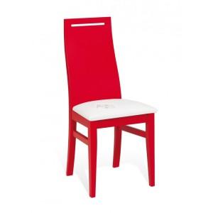 silla de madera de colores