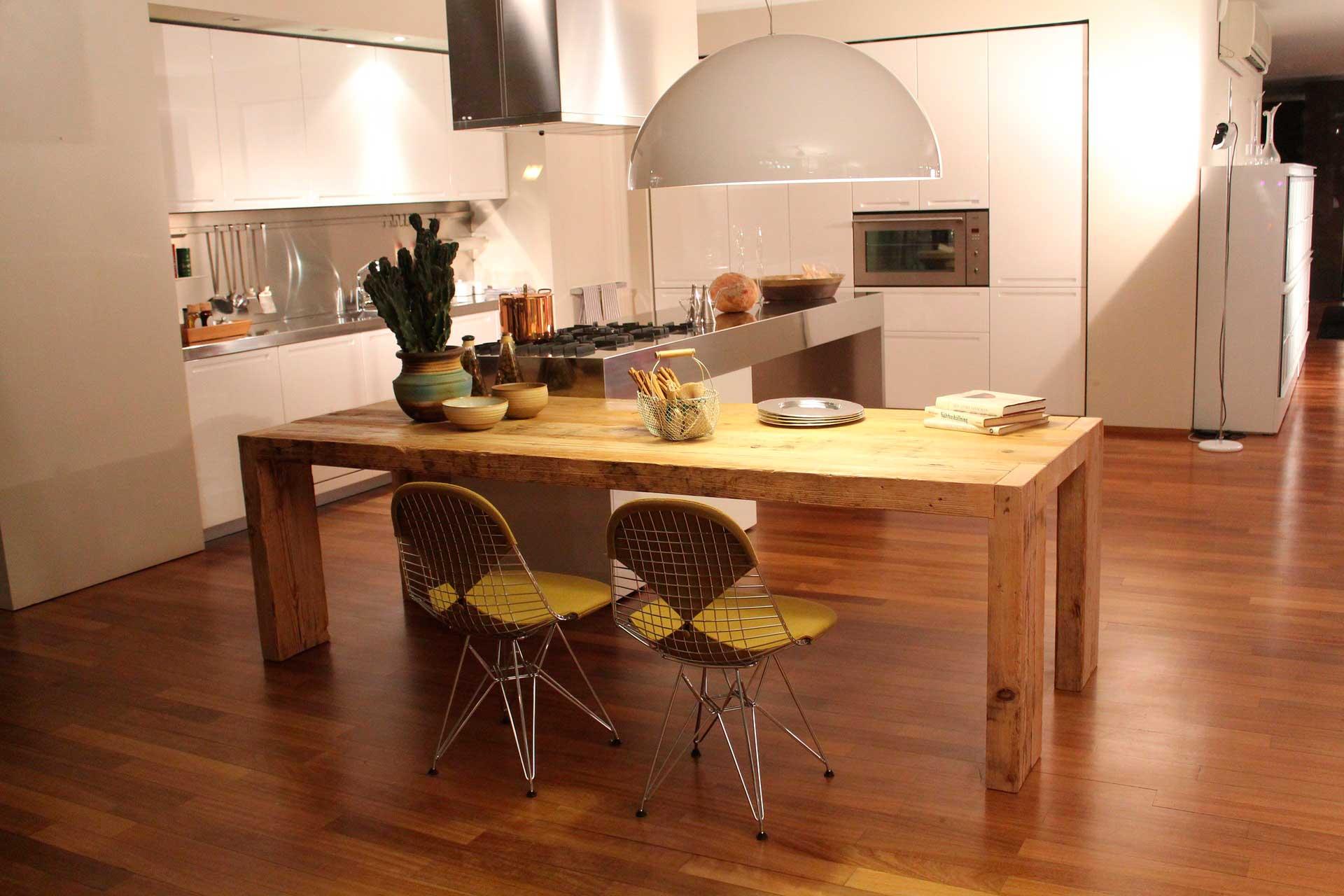Mobiliario de madera para cocinas