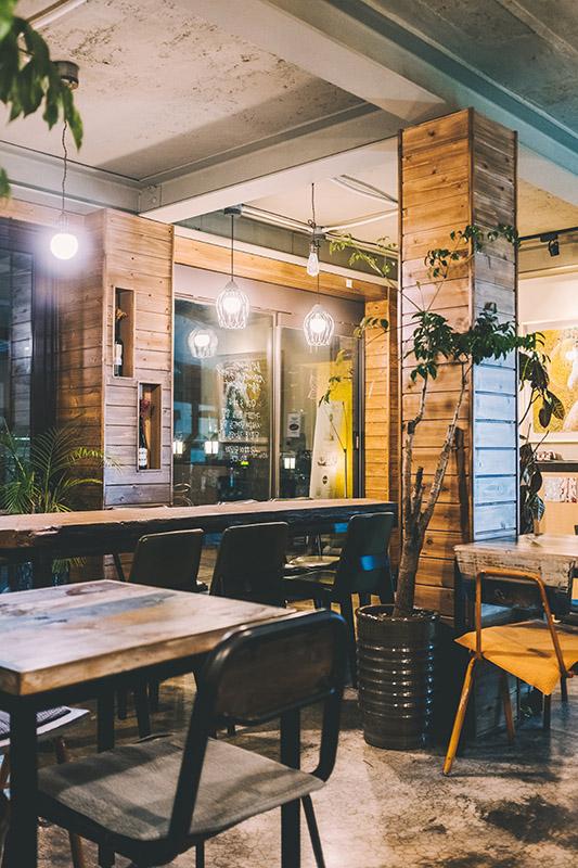 Mobiliario moderno para cafeterías