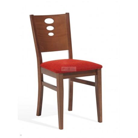 silla de madera para hostelería