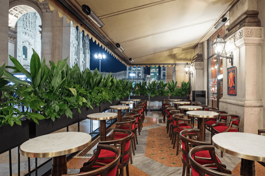 Restaurante Camparino in Galleria (Italia)